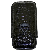 EWT Cigar Leather Case (48R Textured) w/ Cutter